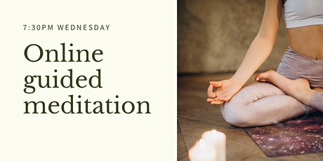 Weekly Online Guided Meditations tickets