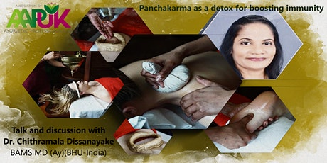 Panchakarma as a detox for boosting immunity | Dr. Chithramala (BAMS, MD) tickets