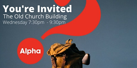 The Alpha Course Wednesday Evenings 7:30pm tickets