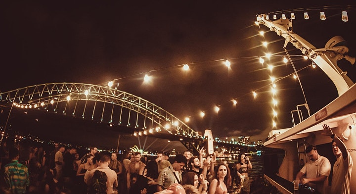 Flow Fridays - Weekend Launch - Boat Party image
