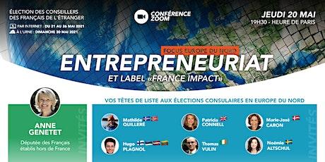 """ENTREPRENEURIAT ET LE LABEL """"FRANCE IMPACT"""" billets"""