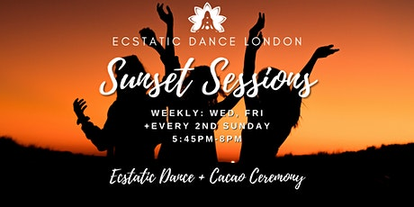 SUNSET SESSIONS with Ecstatic Dance London - Outdoor Silent Disco  & Cacao tickets