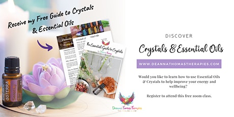 Discover Crystals & Essential Oils tickets