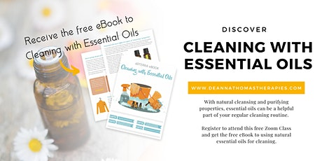 Cleaning with Essential Oils tickets