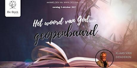 Vernieuwingsdienst | Klaas van Denderen tickets