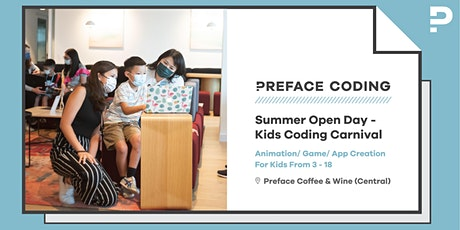 Central | Summer Open Day - Kids Coding Carnival | Preface Coding tickets