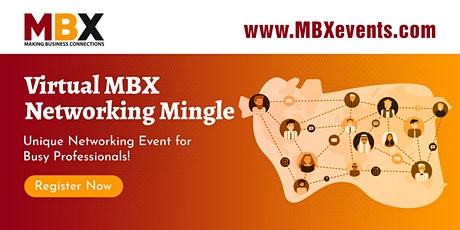 MBX Virtual Networking Mingle tickets