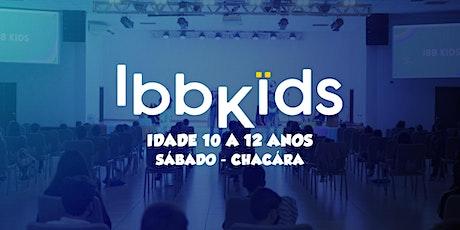 CULTO IBBKIDS - Sábado 18h00min  (10 - 12 anos) ingressos