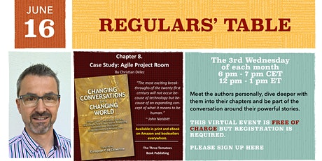 Regulars' Table 8: Christian Delez on Changing Conversations tickets