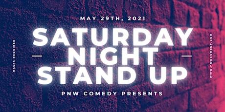 Saturday Night Stand Up tickets