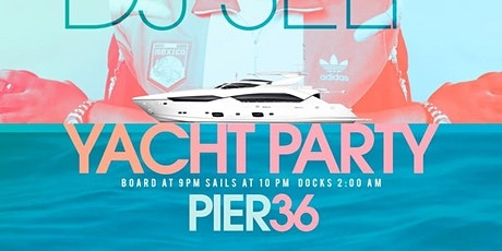 Summer Fest Yacht Party w/ DJ Self Complimentary food and drinks tickets