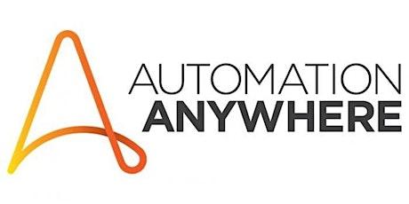 16 Hours Automation Anywhere RPA Training Course Hemel Hempstead tickets