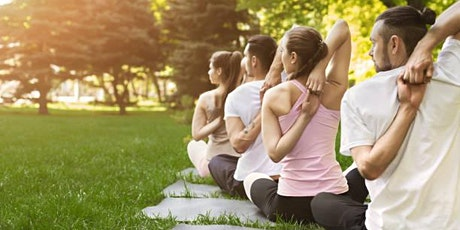 Donation based yoga in the park with Sound Healing! tickets
