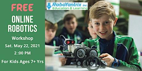 Online Robotics Workshop For Kids 7+ Years tickets