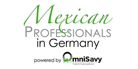 """Presentación de la 2a edición del libro """"Mexican Professionals in Germany"""" entradas"""