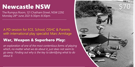 War, Weapon and Superhero Play at Newcastle NSW tickets