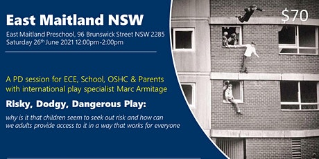 Risky Dodgy Dangerous Play  at East Maitland NSW tickets