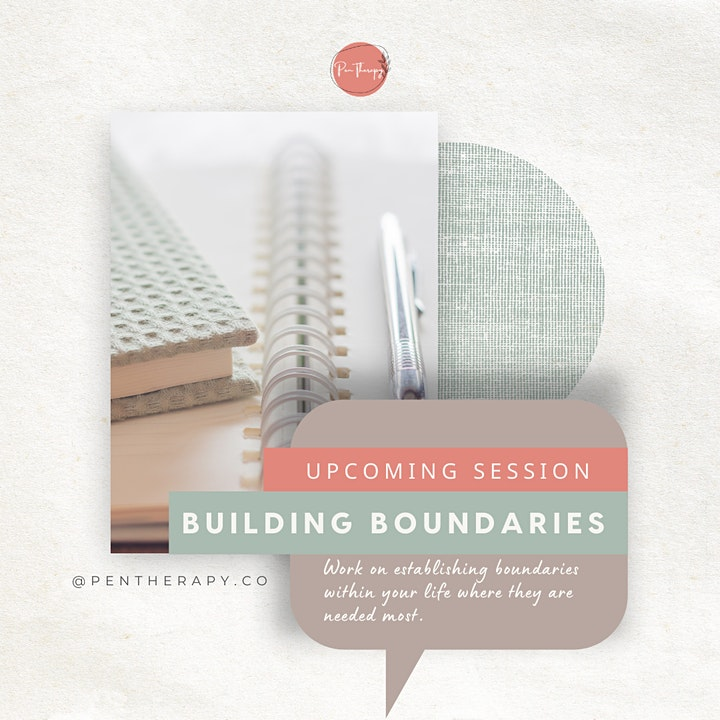 Building Boundaries Wellbeing Journaling Session - 3PM image