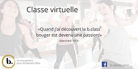 b. class® virtuelle des mercredis avec Guylaine billets