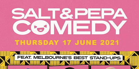SALT AND PEPPER COMEDY NIGHT - Ticketed event tickets
