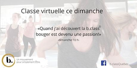 b. class® virtuelle des dimanche avec Guylaine billets