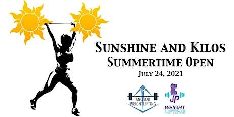 Sunshine and Kilos Summertime Open tickets
