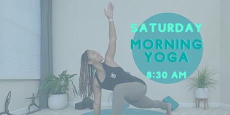Free Saturday Morning Vinyasa Yoga tickets