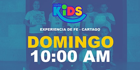 Kids Cartago. Experiencia de Fe  10:00am entradas