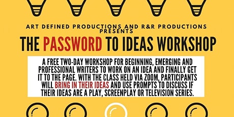 The PassWORD to Ideas Workshop tickets