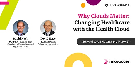 Why Clouds Matter - Changing Healthcare with the Health Cloud bilhetes