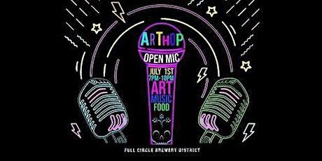 Arthop & Open Mic tickets