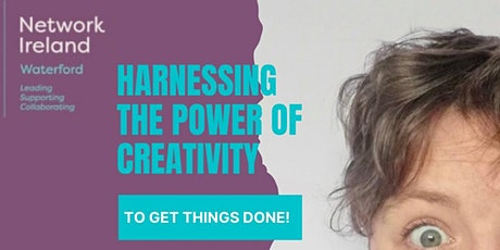 Harnessing the Power of Creativity to Get Things Done. tickets