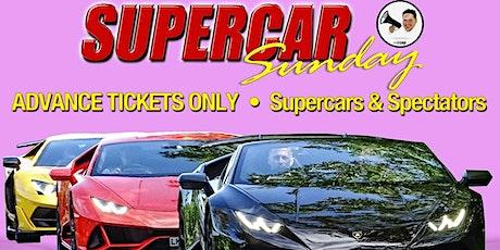 SPECTATORS TICKETS - SUPERCAR SUNDAY tickets