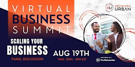 Virtual: Black Business Summit tickets