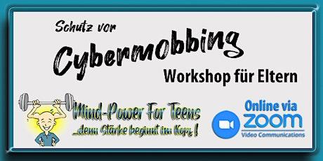 Schutz vor Cybermobbing - Elternworkshop Tickets