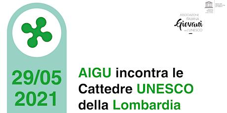 AIGU incontra le Cattedre UNESCO della Lombardia biglietti