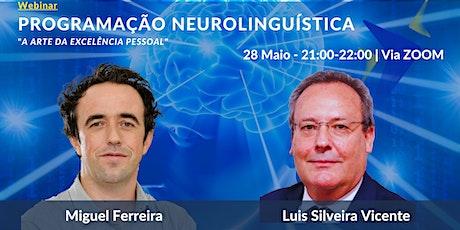 Webinar: Programação Neurolinguística (PNL) bilhetes