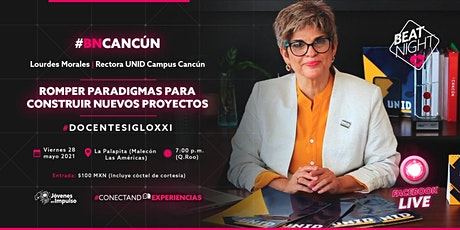 BeatNight Cancún con Lourdes Morales boletos