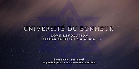 Université du Bonheur  en ligne (session découverte) billets