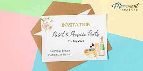 Paint & Prosecco Party at Twickenham tickets