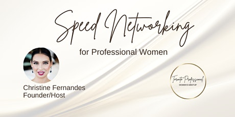 Speed Networking for Professional Women tickets