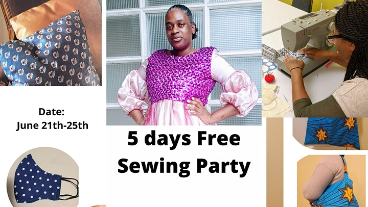 FREE DAYS ONLINE SEWING PARTY image
