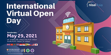 Nisai International Virtual Open Day tickets