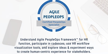APF Certified PeopleOps Specialist™ (APF CPS™) | Sep 28-29, 2021 tickets