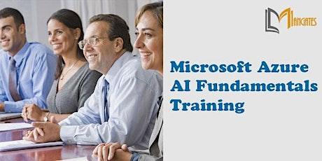 Microsoft Azure AI Fundamentals 1DayVirtualLive Training in Baltimore, MD boletos