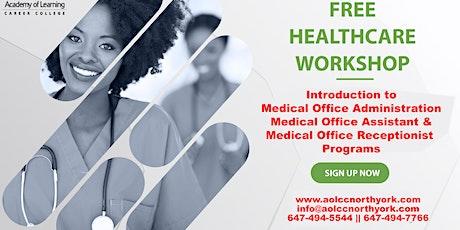 FREE Healthcare Online Workshop tickets