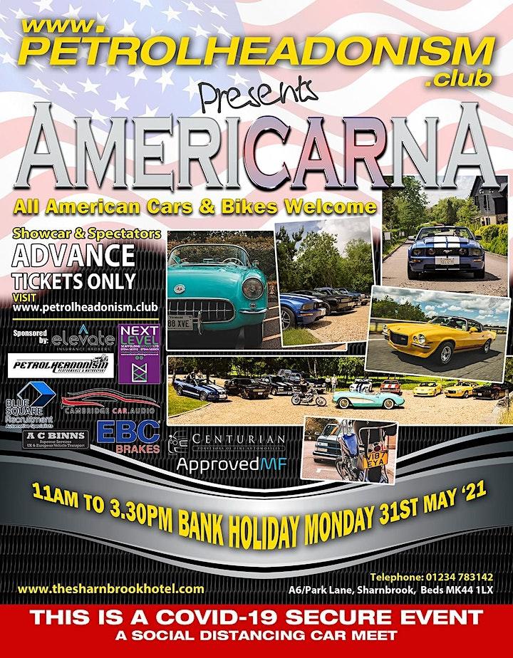 SPECTATORS TICKETS - AMERICARNA CAR & BIKE SHOW image