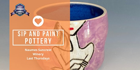 Sip and Paint Pottery Party at Naumes Suncrest Winery tickets