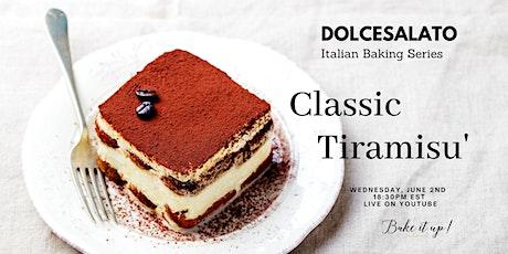 Classic Tiramisu' - Authentic Recipe tickets
