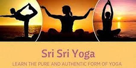 Introduction to Sri Sri Yoga bilhetes